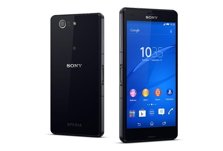Sony Xperia Z3 Compact vista fronte retro