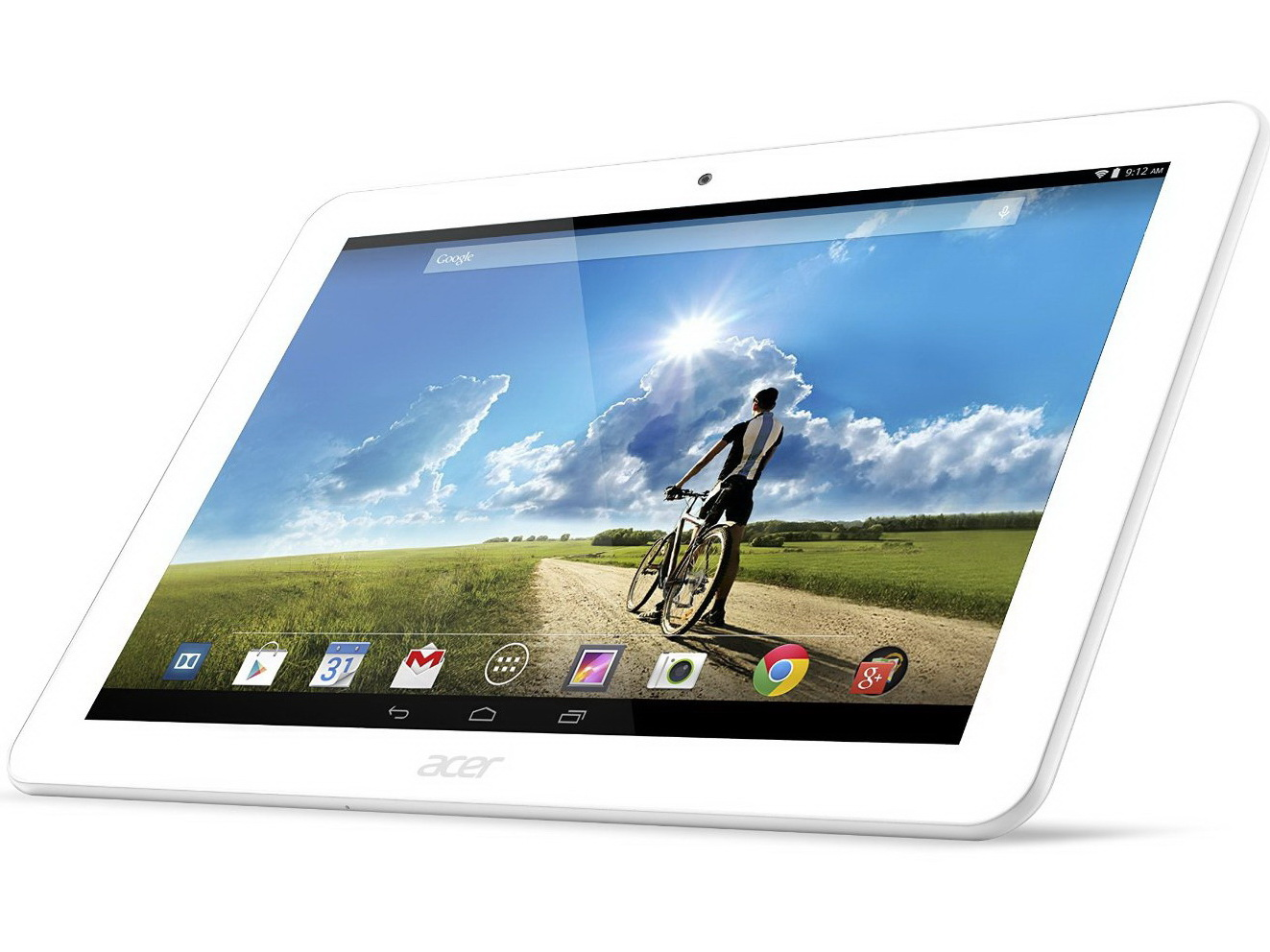 Acer Iconia A3 white display