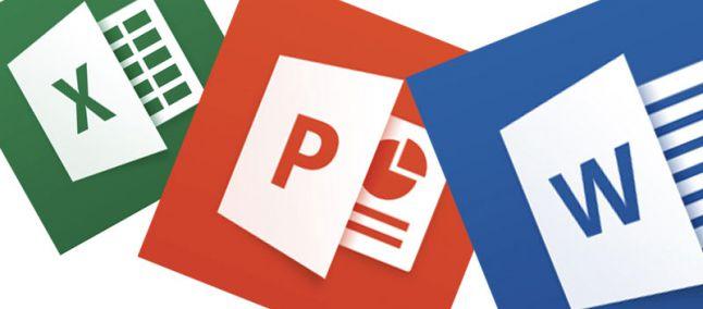 Aggiornamento Word, Excel e Powerpoint per iOS