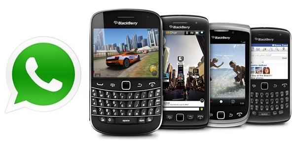 Whatsapp: nuova versione per BlackBerry OS