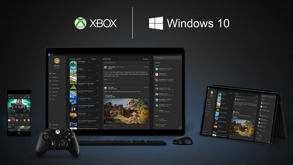 Xbox One: lo streaming dei giochi per PC