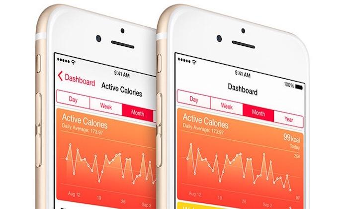 iOS 8 contapassi