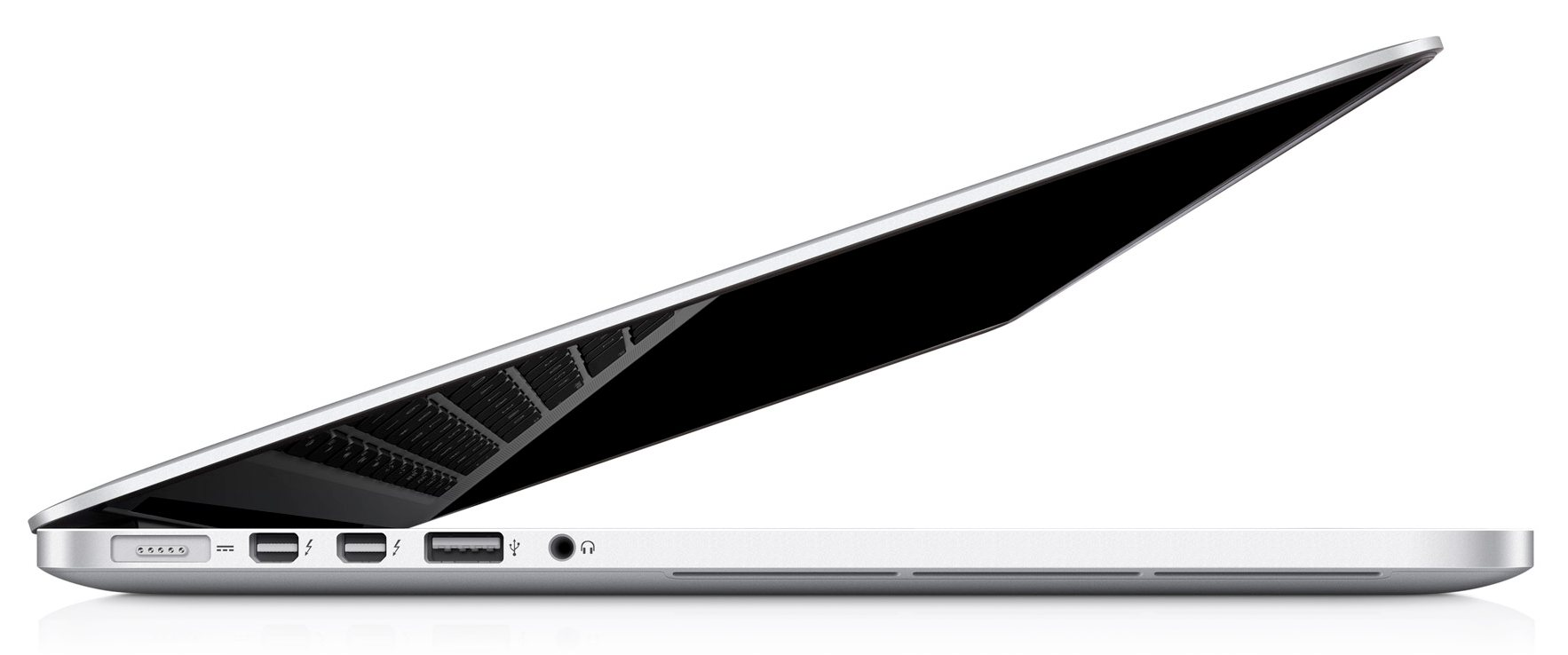 Apple MacBook Pro vista laterale