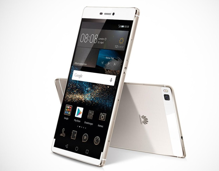Huawei Ascend P8 display