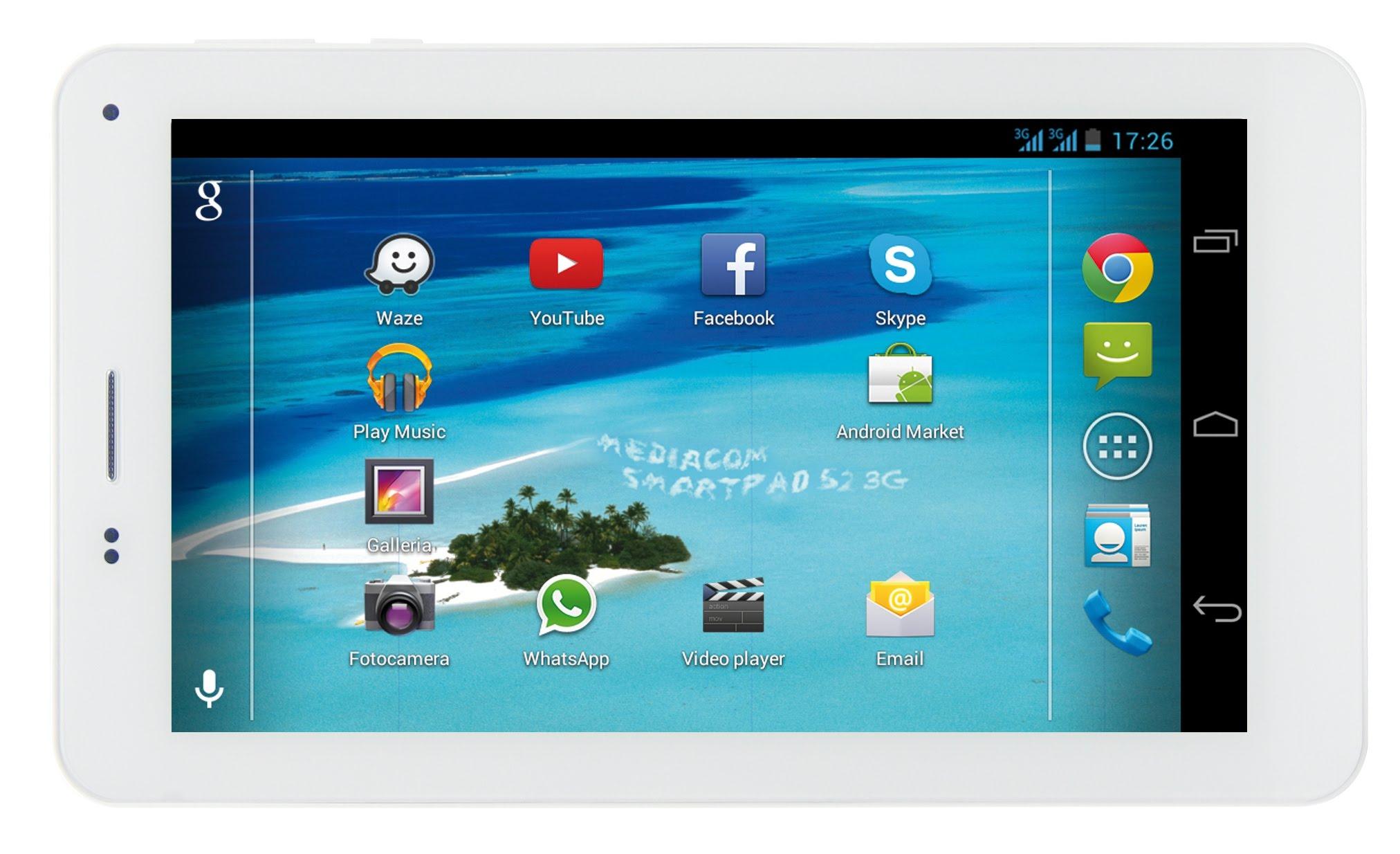 MEDIACOM SMARTPAD 7.0 display