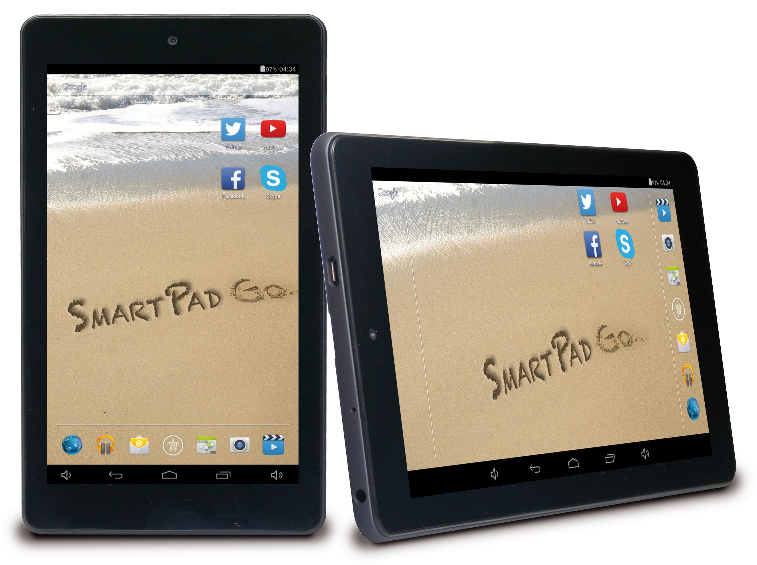 SMARTPAD 7.0 GO display