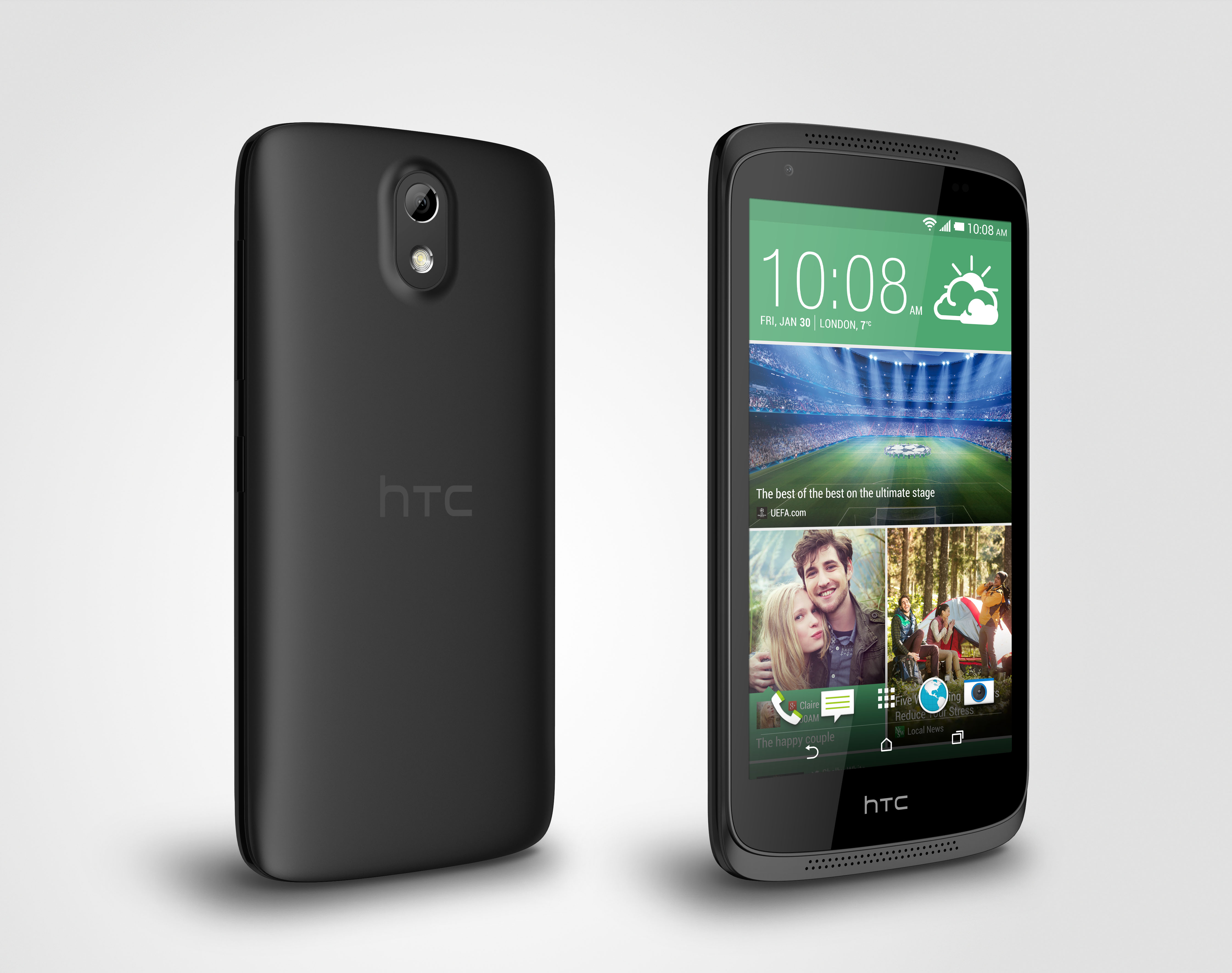 HTC Desire 526G display cover
