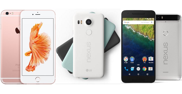 apple-iphone-6s-google-nexus-5x-6p