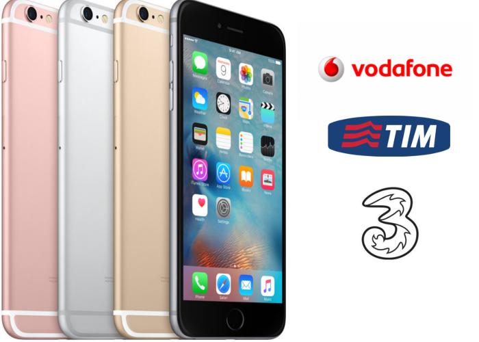 iPhone 6S Tim Vodafone 3Italia