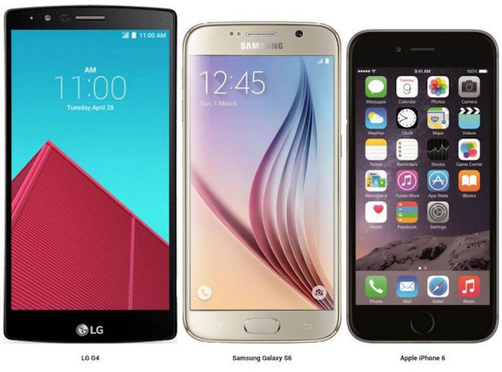 iPhone6s GalaxyS6 LGG4