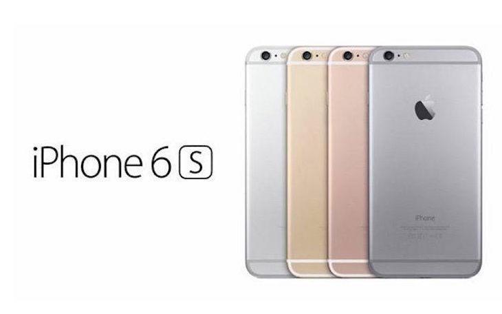 iPhone 6S vari colori