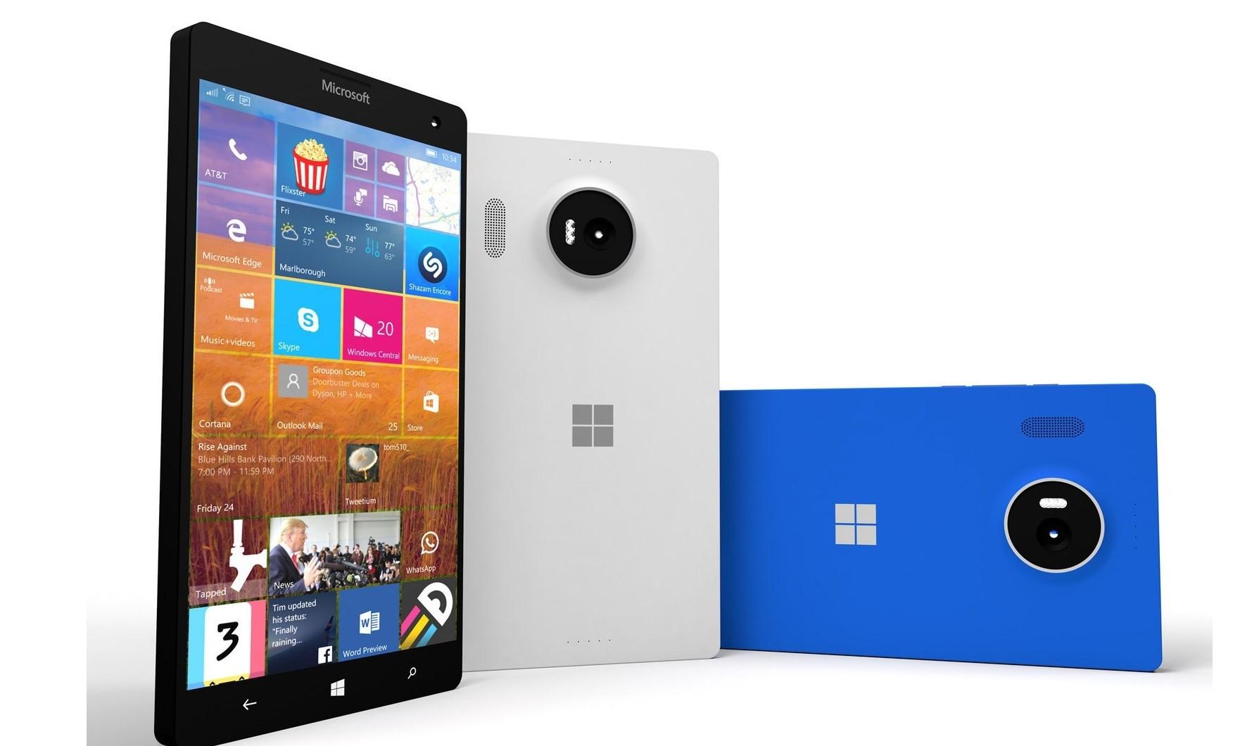 Nokia Lumia 950 e Nokia Lumia 950XL