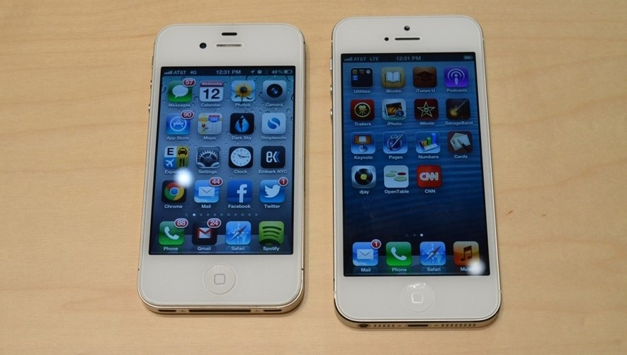 iPhone 5s e iPhone 4S