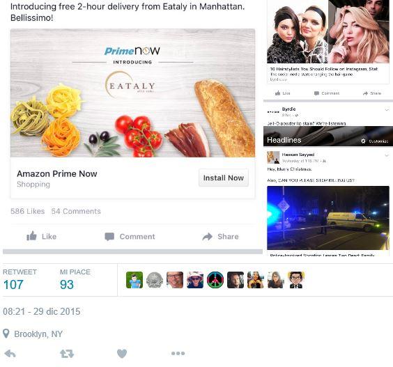 facebook categorie