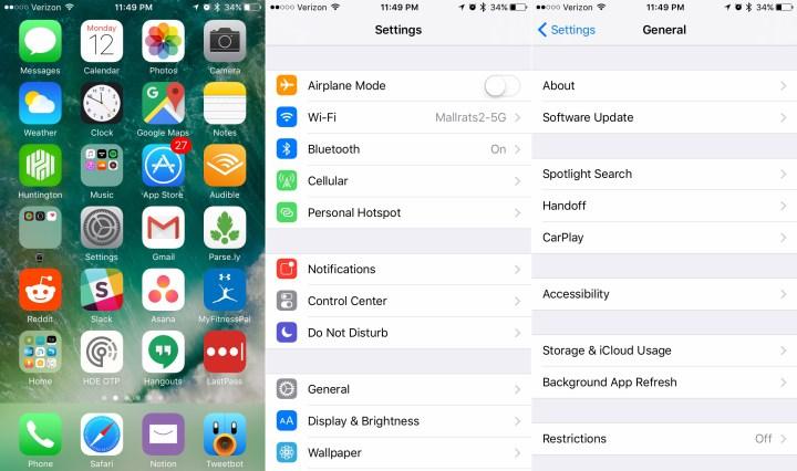 Apple rilascia l'aggiornamento iOS 10.3.1. Ecco quali sono le novità