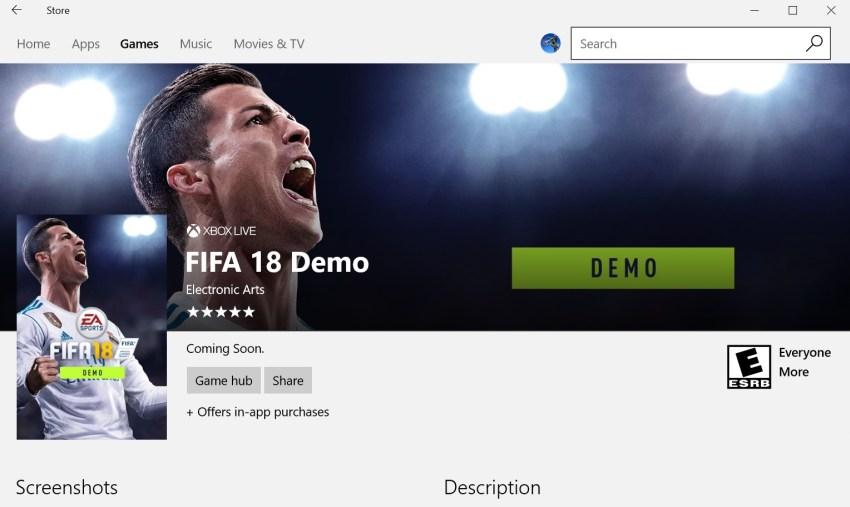 FIFA 18 demo: a che ora e quando scaricare su PlayStation 4