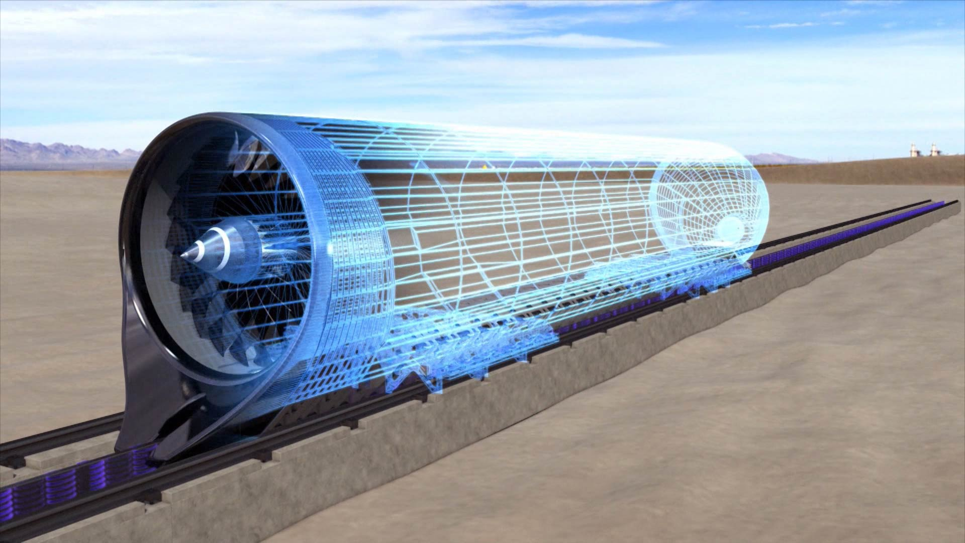 Hyperloop treno supersonico in usa con un pezzo d 39 italia for Hyperloop italia
